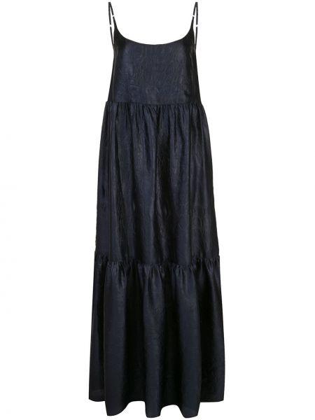 Платье макси с открытой спиной на бретелях Sies Marjan