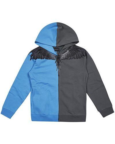 Niebieski sweter Marcelo Burlon