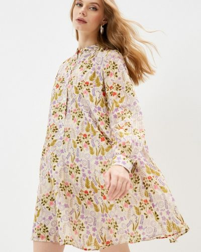 Платье рубашка - бежевое Paul & Joe