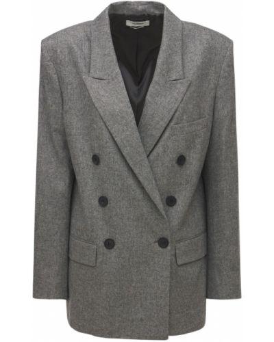 Серый пиджак в клетку Isabel Marant Étoile