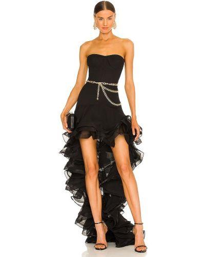 Шелковое платье - черное Bronx And Banco