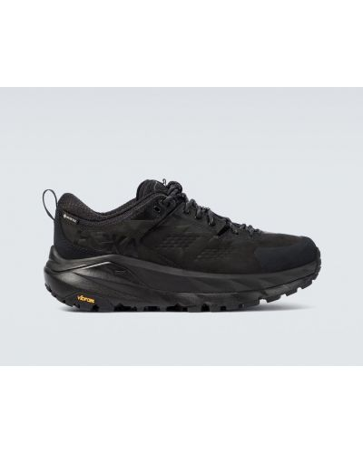 Кожаные кроссовки - черные Hoka One One