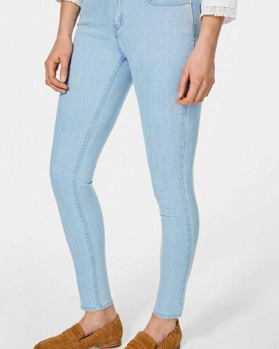 Голубые джинсы-скинни Pedro Del Hierro