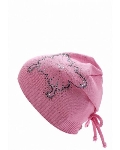 Розовая шапка весенняя Tutu