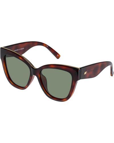 Niebieskie okulary Le Specs