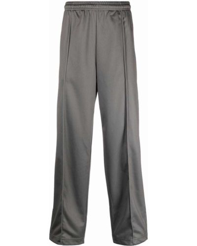 Spodnie z printem - zielone Marcelo Burlon County Of Milan