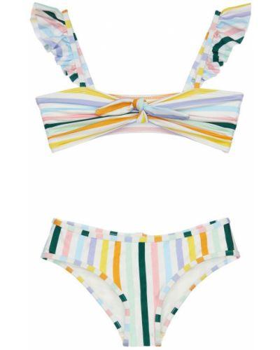 Bikini elastyczny z paskami Zimmermann