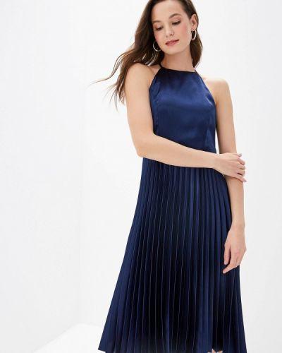 Повседневное платье осеннее синее Dorothy Perkins Curve