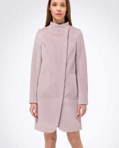 Розовое пальто с капюшоном Cat Orange