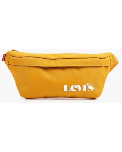 Текстильная поясная сумка - желтая Levi's®