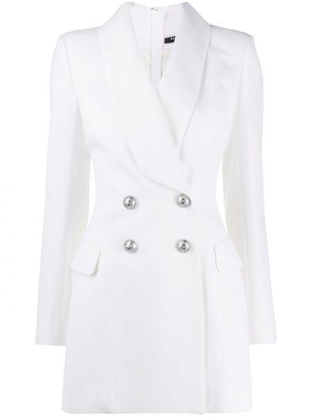 Sukienka mini z długim rękawem sukienka marynarka Balmain