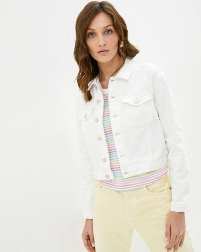 Белая джинсовая куртка Colin's