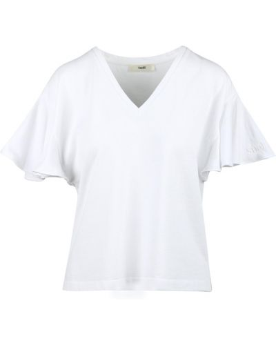 Biały t-shirt Suoli