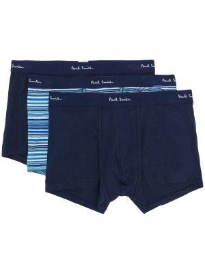 Хлопковые синие носки Paul Smith