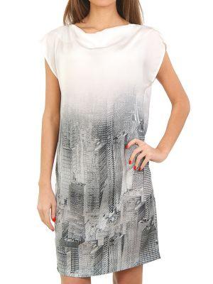 Платье из полиэстера - серое Cerruti 18crr81