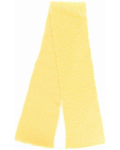 Szalik wełniany - żółty Roberto Collina