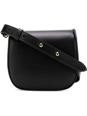Czarna torebka mini skórzana Simone Rocha