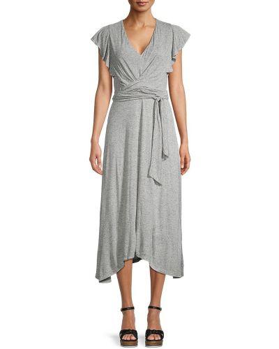 Асимметричное трикотажное купальное платье с подкладкой Rebecca Taylor