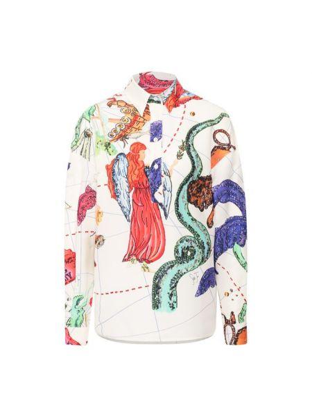 Рубашка из вискозы Stella Jean