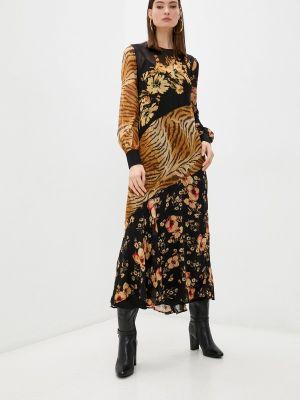 Повседневное платье - черное Twinset Milano
