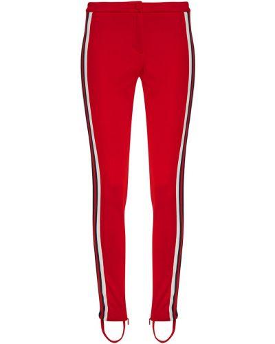 Спортивные брюки с лампасами со штрипками Gucci