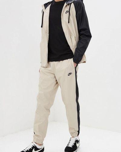 Спортивный костюм бежевый Nike