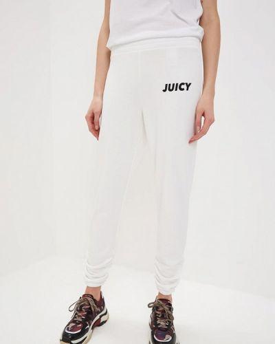 Спортивные брюки - белые Juicy By Juicy Couture