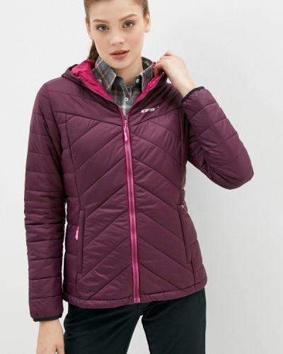Утепленная красная куртка Icepeak
