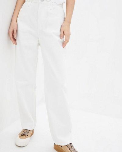 Повседневные белые брюки Miss Sixty