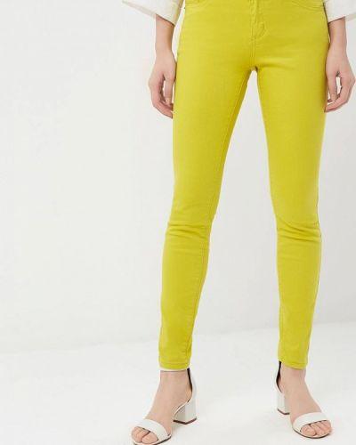 Желтые джинсы-скинни Incity