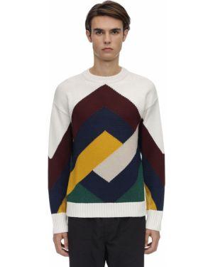 Prążkowany sweter wełniany Drole De Monsieur