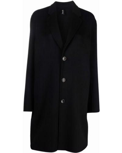 Черное длинное пальто PaltÒ