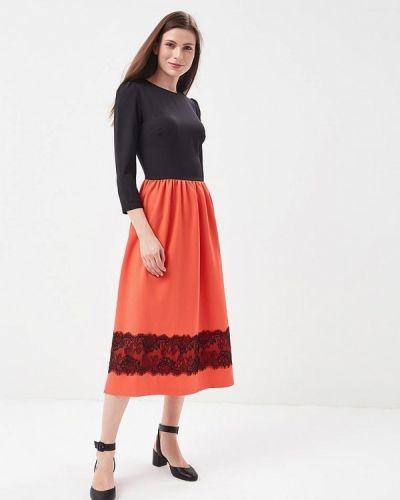 Платье весеннее красный Vittoria Vicci