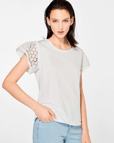 Белая футболка Pedro Del Hierro