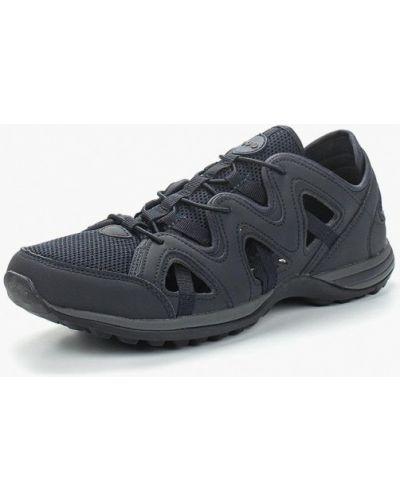 Синие кроссовки из искусственной кожи Strobbs