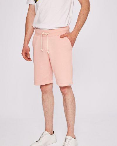 Розовые шорты прямые Jack & Jones