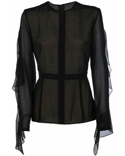 Bluzka - czarna Victoria Beckham