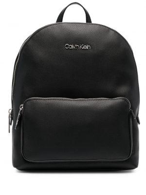 Черная сумка на молнии с карманами Calvin Klein