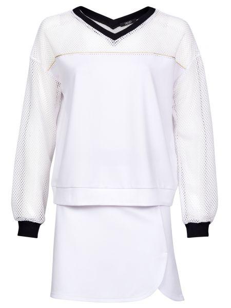 Костюмный белый костюм из вискозы Liu Jo