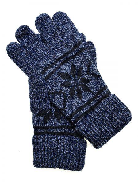 Niebieskie rękawiczki materiałowe Top Secret