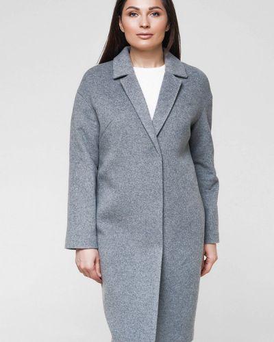 Серое пальто весеннее Florens