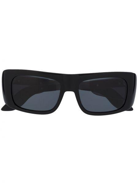 Черные солнцезащитные очки квадратные металлические Marni Eyewear