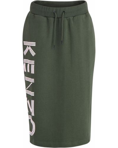 Юбка миди с поясом с карманами Kenzo