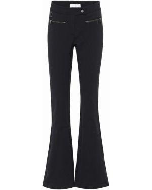 Czarne spodnie z nylonu Erin Snow