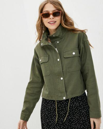 Джинсовая куртка хаки Jacqueline De Yong