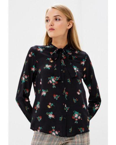 Черная блузка с длинным рукавом Pinko