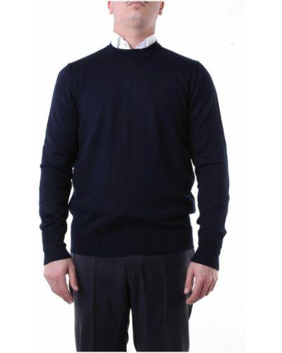 Niebieska bluza dresowa Messagerie