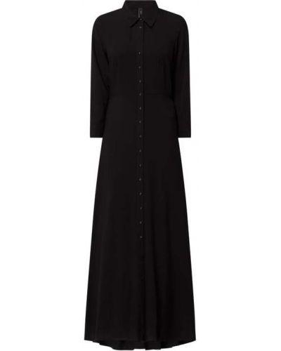 Czarna sukienka z wiskozy Y.a.s