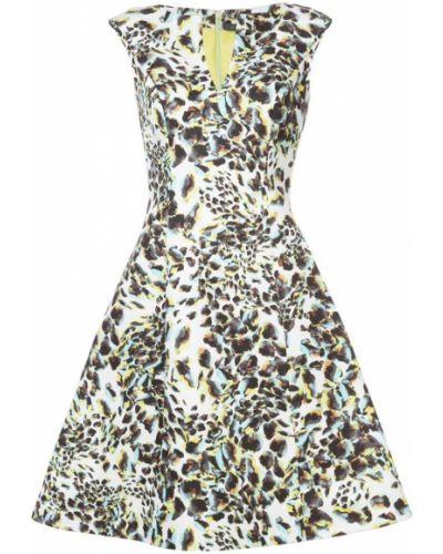 Платье миди леопардовое расклешенное Rubin Singer