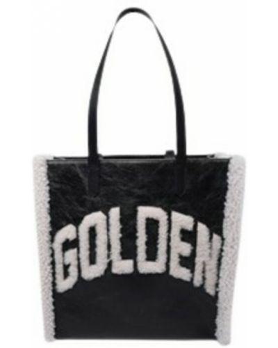 Czarna torebka Golden Goose